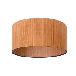 Plafonnier de salon design Ø 42 cm Bois clair Fleur