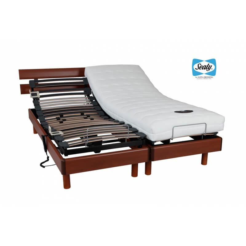 sommier de relaxation lectrique bodysmart matelpro. Black Bedroom Furniture Sets. Home Design Ideas