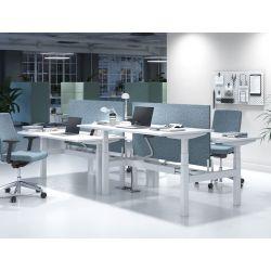 Bureau bench assis-debout électrique Lorenzo