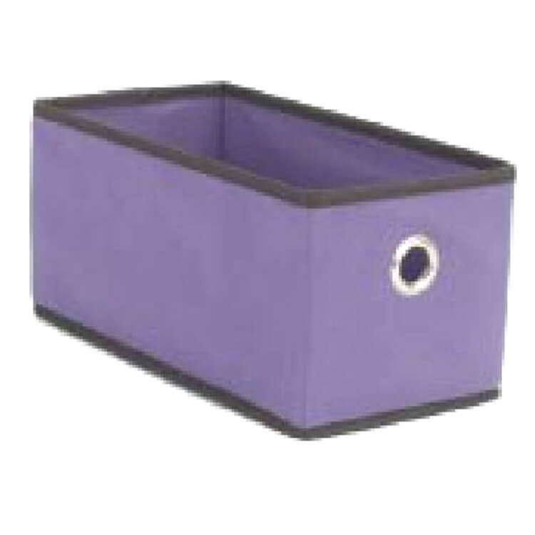 panier de rangement en tissu maggy. Black Bedroom Furniture Sets. Home Design Ideas