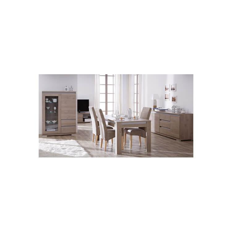 Chaise de salle à manger en tissu (lot de 2) Dinard