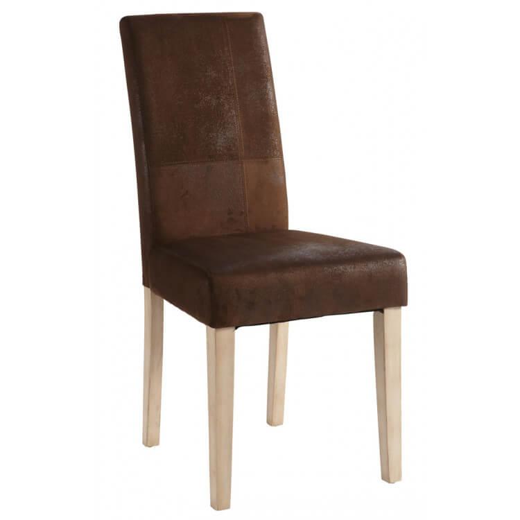 Chaise de salle à manger en tissu (lot de 2) Deborah
