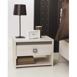 Chevet contemporain 1 tiroir Cesca