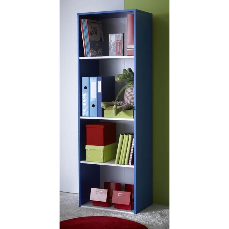 biblioth que contemporaine 5 tag res carno. Black Bedroom Furniture Sets. Home Design Ideas