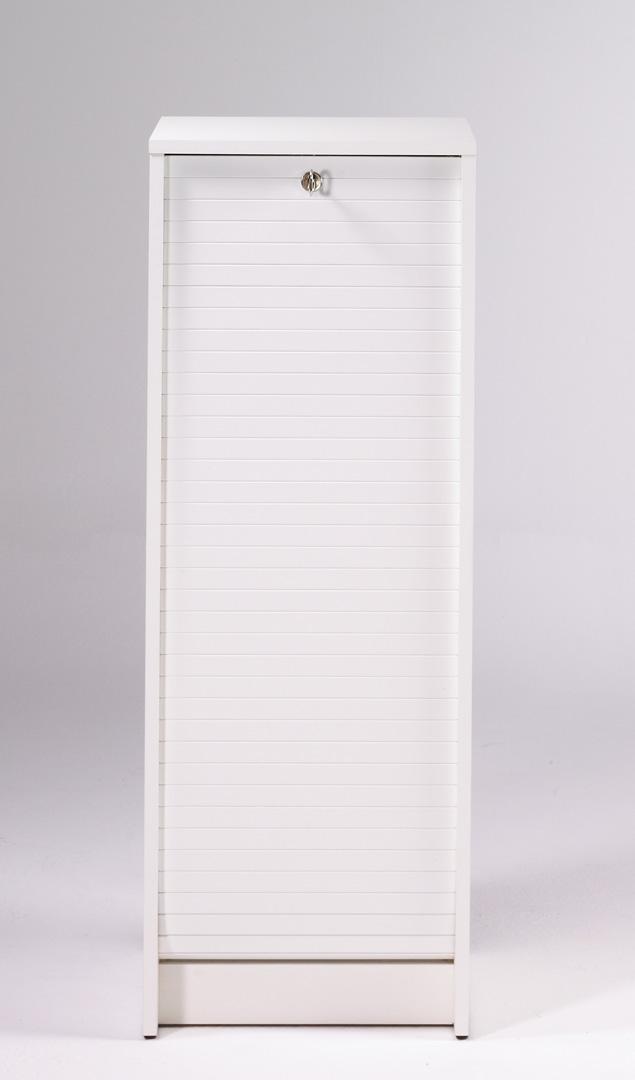 Classeur à rideau design blanc Booster