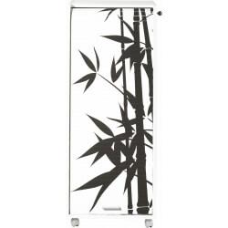 Caisson de bureau mobile à roulettes design blanc Bambou