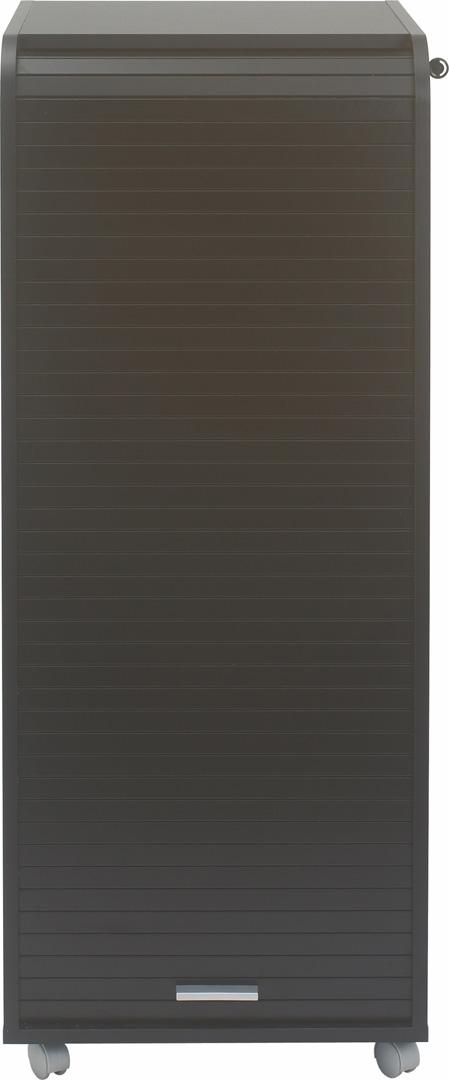 Caisson de bureau mobile à roulettes coloris noir Torga