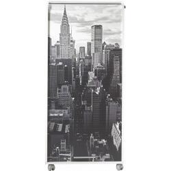 Bureau secrétaire informatique design blanc imprimé New York Elissa