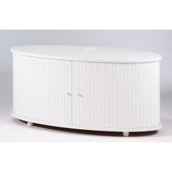 Meuble TV design blanc Diabolo