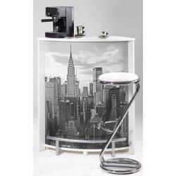 Bar design blanc imprimé New York Vision