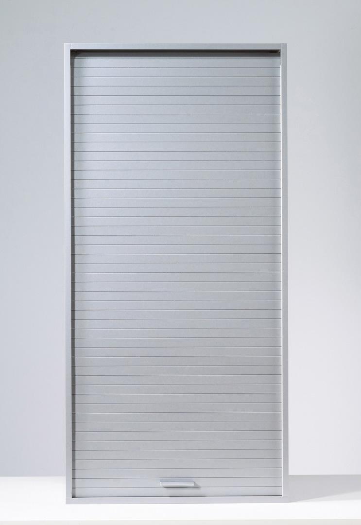 Armoire de rangement à rideau contemporaine 60 cm Loick