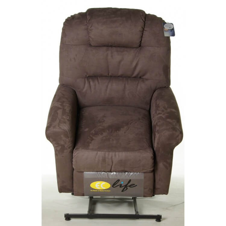 fauteuil de relaxation microfibre lectrique releveur avec repose pieds int gr rosy matelpro. Black Bedroom Furniture Sets. Home Design Ideas