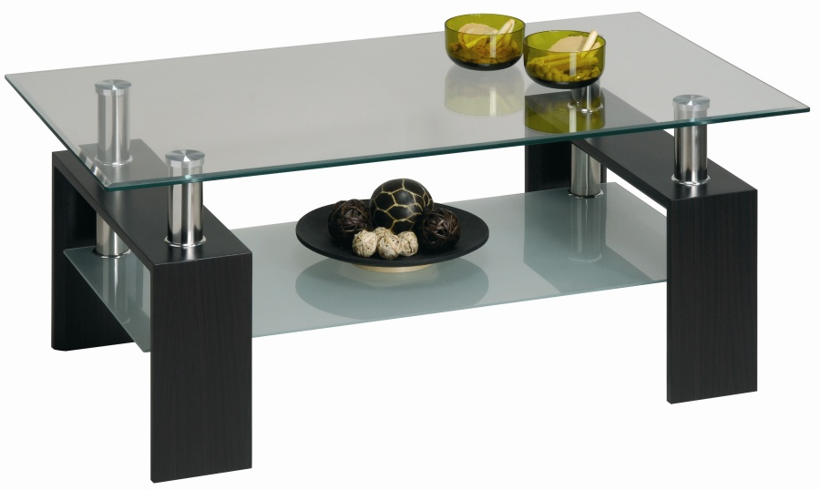 Table basse CHROME