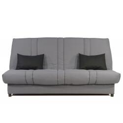 Canapé clic-clac contemporain coloris gris Bobbie