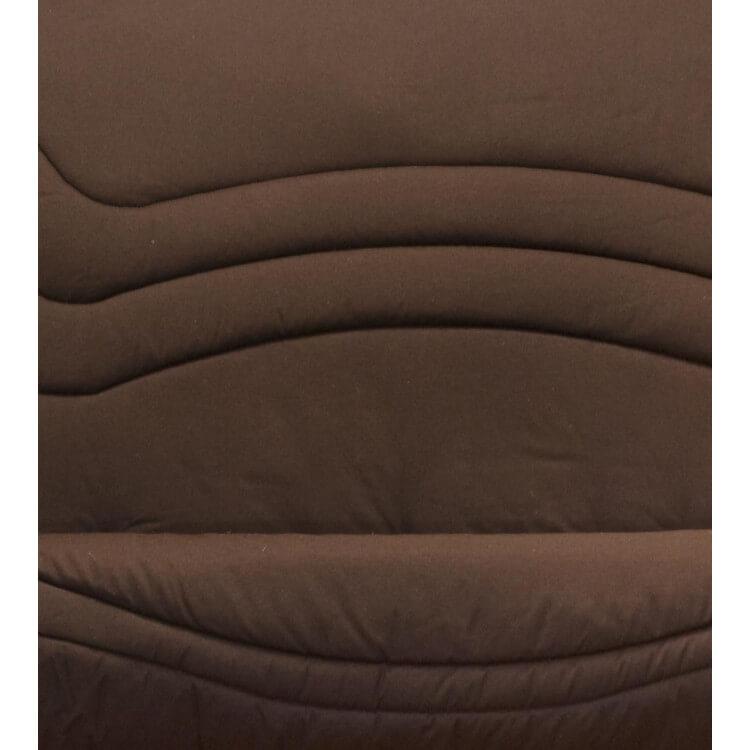Housse BZ & 2 housses de coussin coloris chocolat Vista