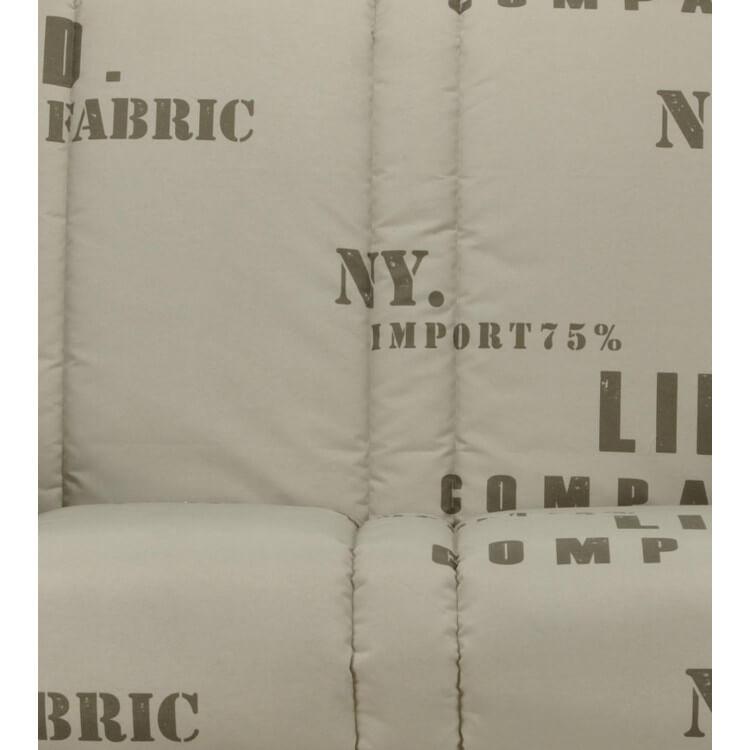 Housse clic-clac contemporaine coloris imprimé Lofty