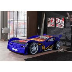Lit enfant voiture coloris bleu Starter