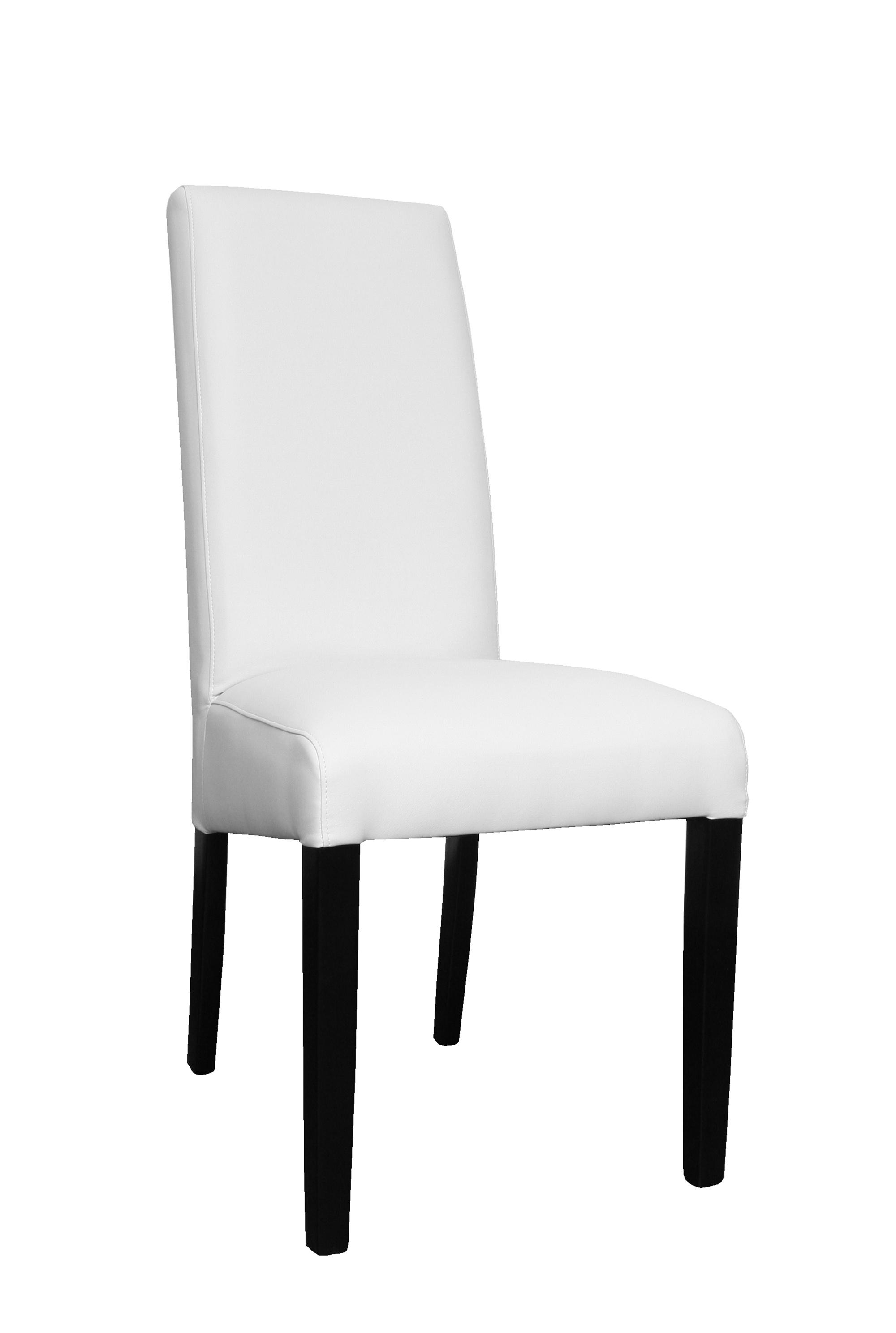 Chaises de salle à manger (lot de 2) coloris blanc Dara