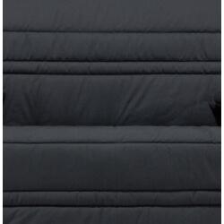 Housse clic-clac et 2 housses de coussins coloris noir Vista