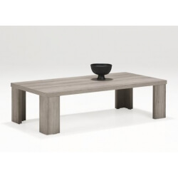 Table basse contemporaine rectangulaire coloris mara Elina