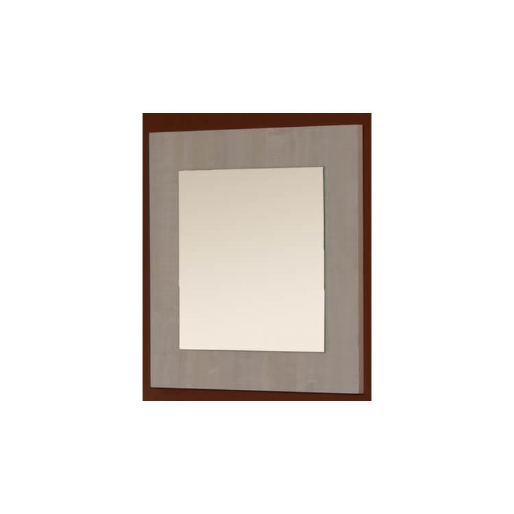 Miroir carré contemporain chêne clair Marijo
