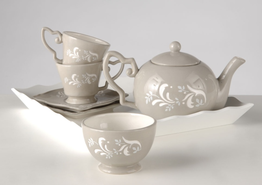 Théière & tasses à thé JARDIN DES TUILERIES