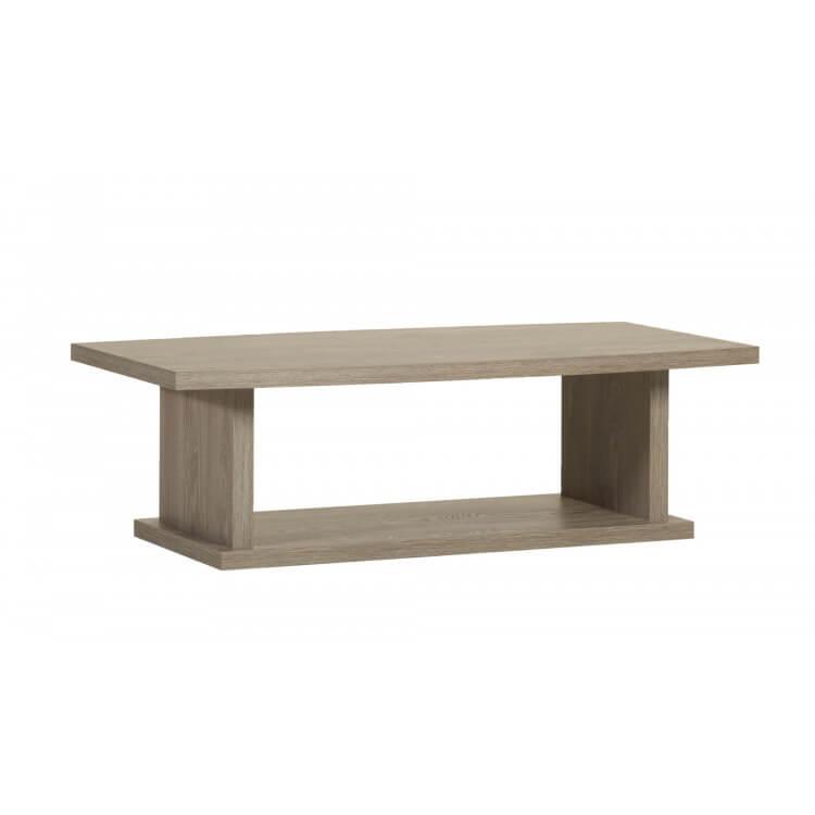 Table basse contemporaine coloris memphis oak Barry