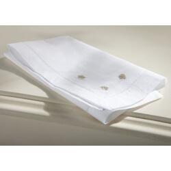 Lot de 2 serviettes de table 40 x 40 cm FLEUR DE LIN