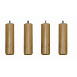 Pieds cylindriques (lot de 4)