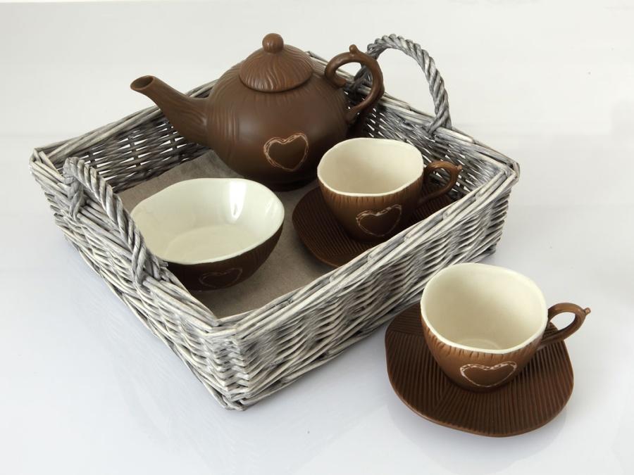 Théière & tasses à thé BALADE EN LAPONIE