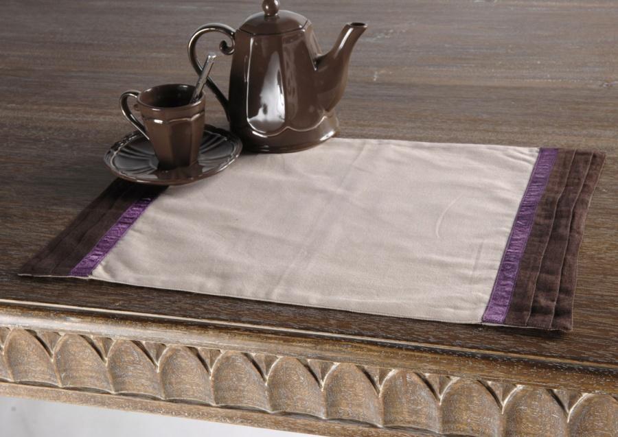 Lot de 2 sets de table rectangulaires 49 x 34 cm DANDY