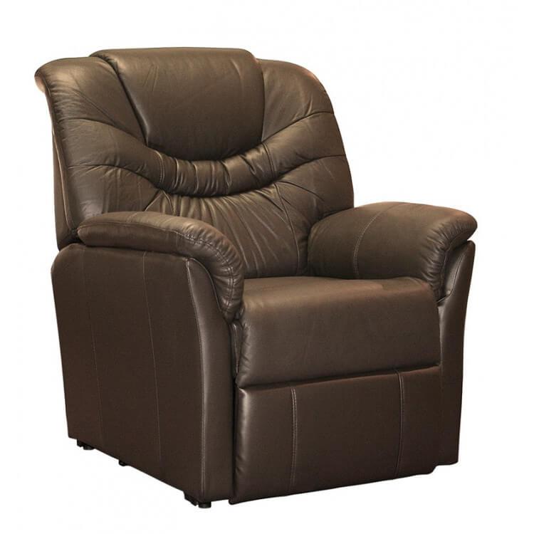 fauteuil relaxation cuir électrique releveur pas cher