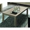 Table basse rectangulaire contemporaine chêne gris Jessica II