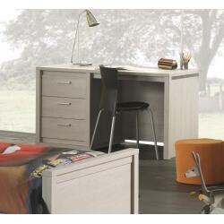 Bureau contemporain coloris gris Noe