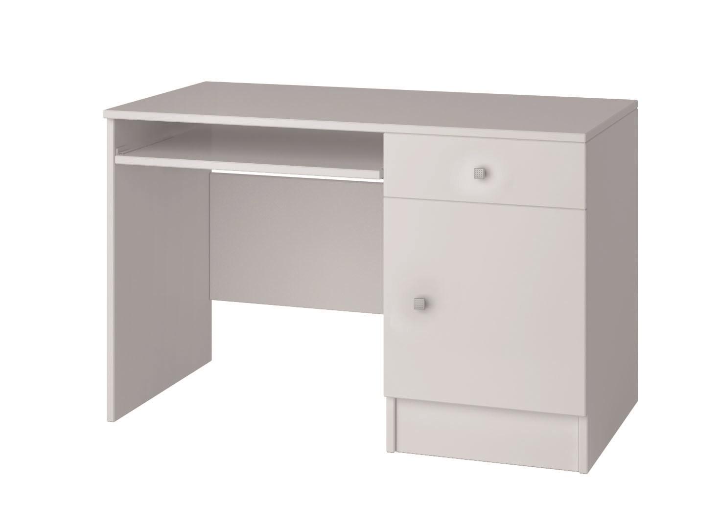bureau enfant contemporain blanc mika. Black Bedroom Furniture Sets. Home Design Ideas