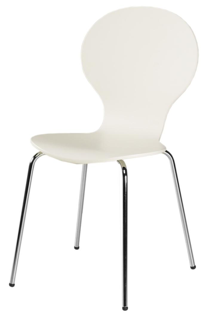 Lot de 4 chaises de cuisine VITAMINE