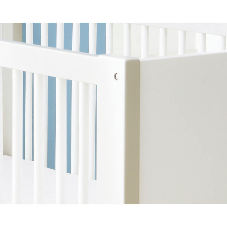 Chambre bébé contemporaine blanche/marron clair Ted