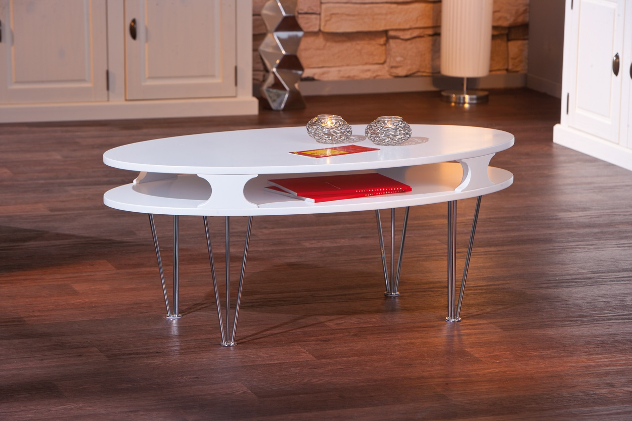 table basse design m tal bois blanche minutio. Black Bedroom Furniture Sets. Home Design Ideas