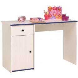 Bureau enfant contemporain pin memphis/rose ou bleu Droopy