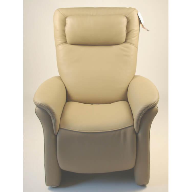 Fauteuil de relaxation 100 % cuir électrique PACIFIC