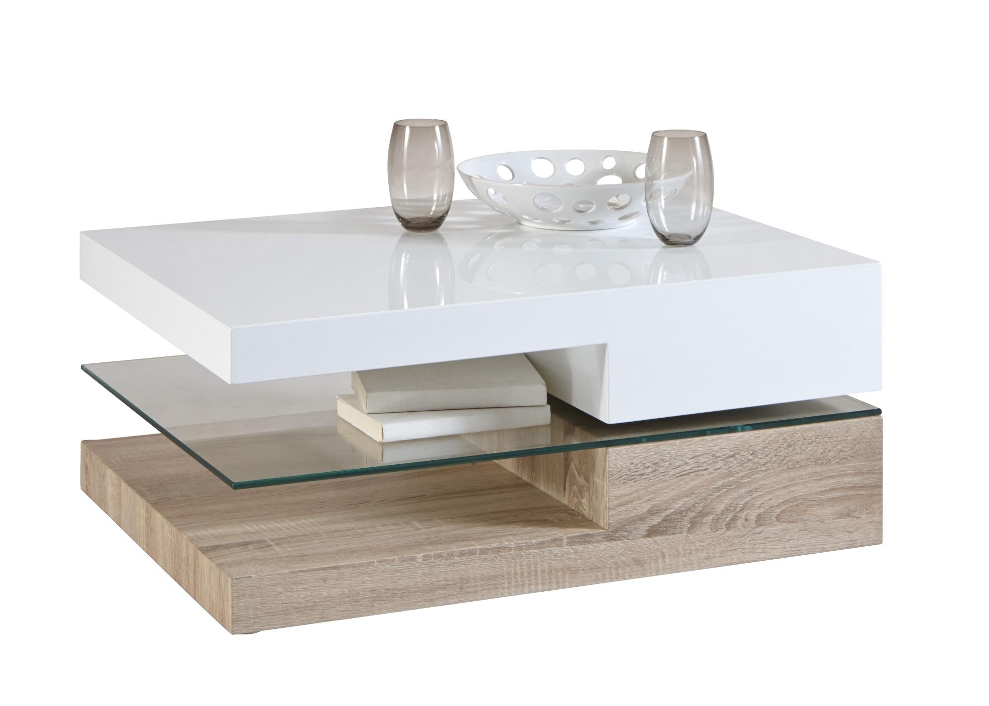Eviane Boisamp; Verre Basse Rectangulaire Table Contemporaine rshQtd