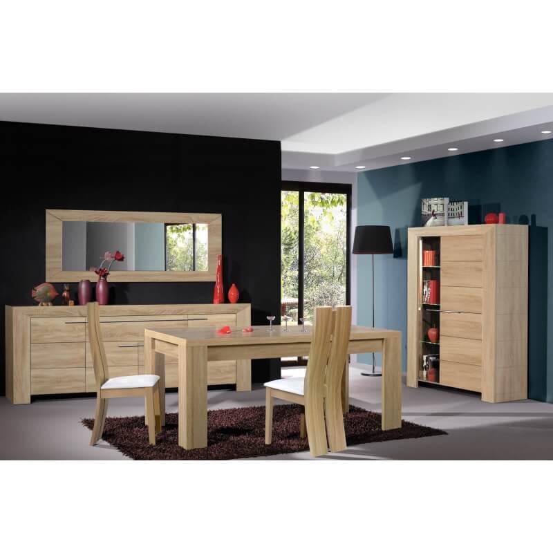 miroir rectangulaire de salle manger coloris h tre. Black Bedroom Furniture Sets. Home Design Ideas