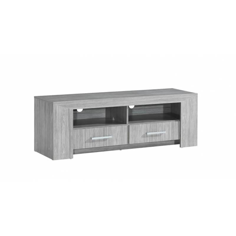meuble tv contemporain ch ne gris paola matelpro. Black Bedroom Furniture Sets. Home Design Ideas