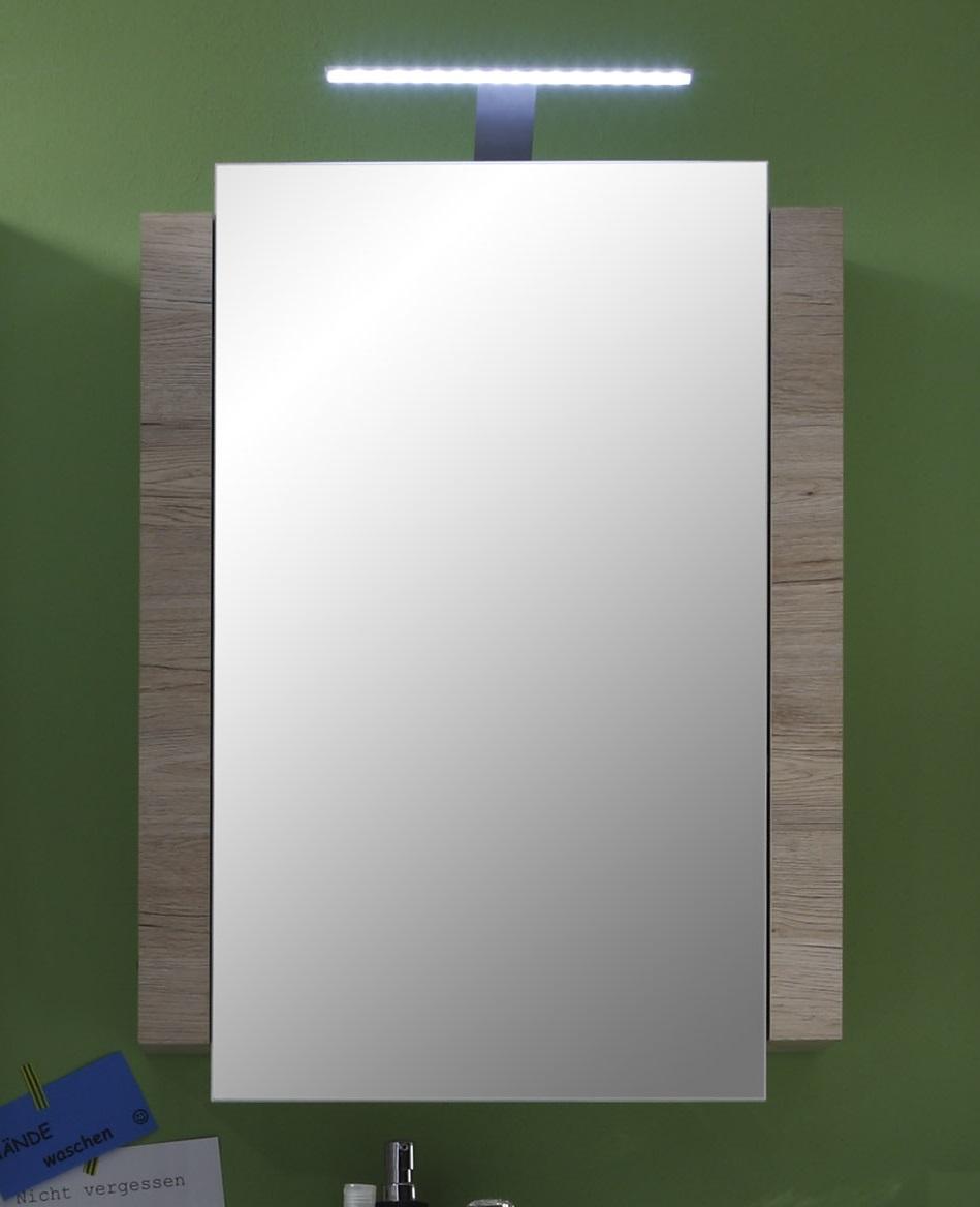 Armoire de toilette contemporaine chêne clair Cambodge