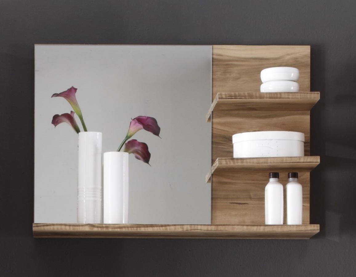 Miroir de salle de bain contemporain coloris chêne Bloom