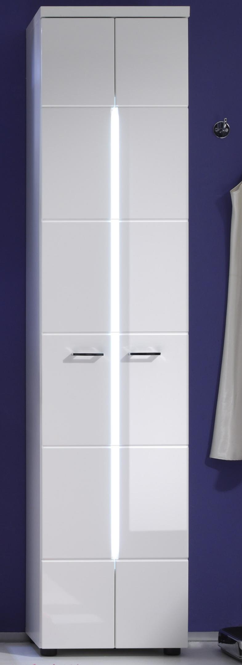 Colonne de salle de bain moderne blanche Blondie
