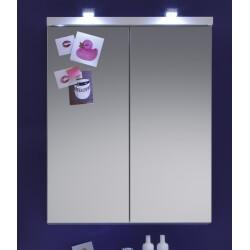 Armoire de toilette de salle de bain design avec éclairage Blondie