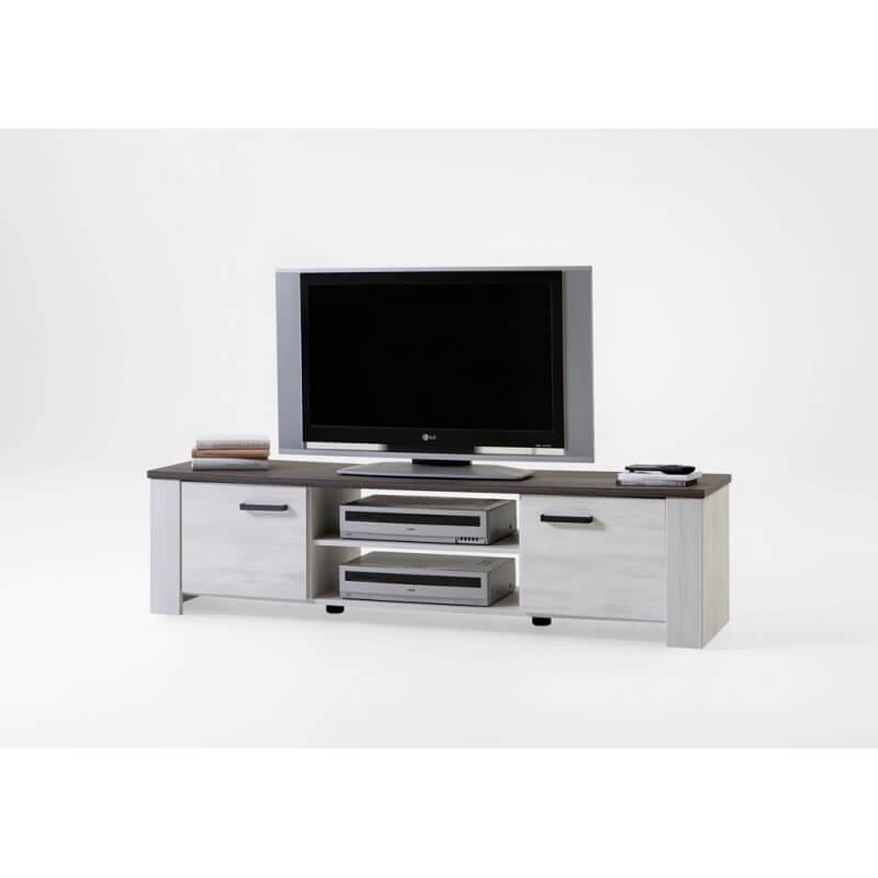 meuble tv contemporain ch ne clair gris marocco. Black Bedroom Furniture Sets. Home Design Ideas