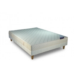 Ensemble literie fixe mousse HR SEDUCTION-2 x 80 x 200 cm