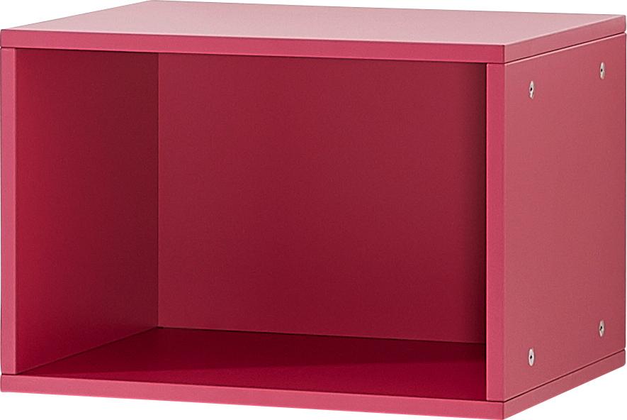 Cube de rangement coloris mûre sauvage pour gamme Palermo